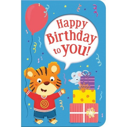 Happy Birthday To You Gift Book And Greeting Card Hardcover