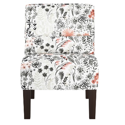 Armless Chair Patterned - Skyline Furniture