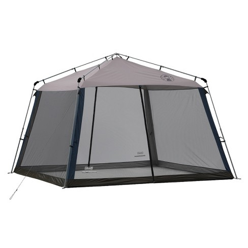 Instant Canopy Screen House Coleman 10/'x10/' for Outdoor Camping Hiking Shelter