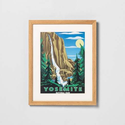 'Yosemite' Framed Wall Art - Hearth & Hand™ with Magnolia - image 1 of 3