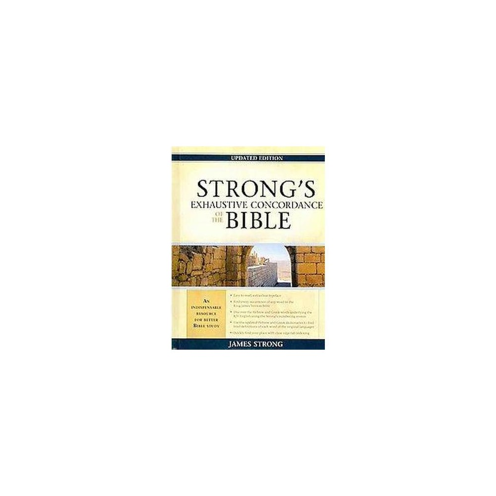 Strong's Exhaustive Concordance to the Bible (Updated) (Hardcover) (James Strong)