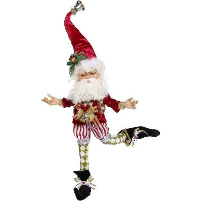 """Mark Roberts Products 13"""" Red and White Northpole Mischief Fairy Christmas Figurine"""