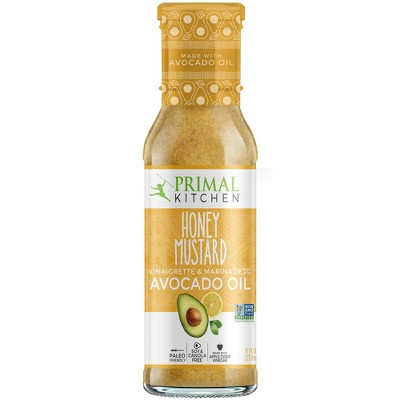 Salad Dressing & Toppings: Primal Kitchen Honey Mustard Vinaigrette