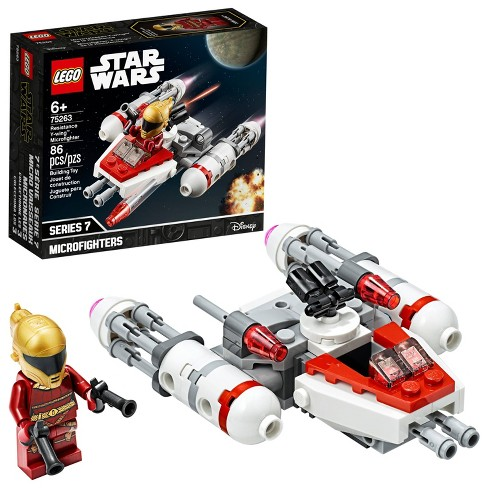 Lego Star Wars Resistance Y Wing Microfighter Cool Toy Building Kit 75263 Target