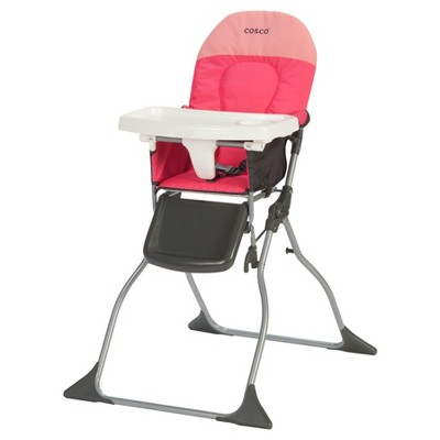 Cosco Simple Fold High Chair - Coral