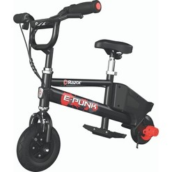 Razor E Punk Electric Mirco Bike - Black