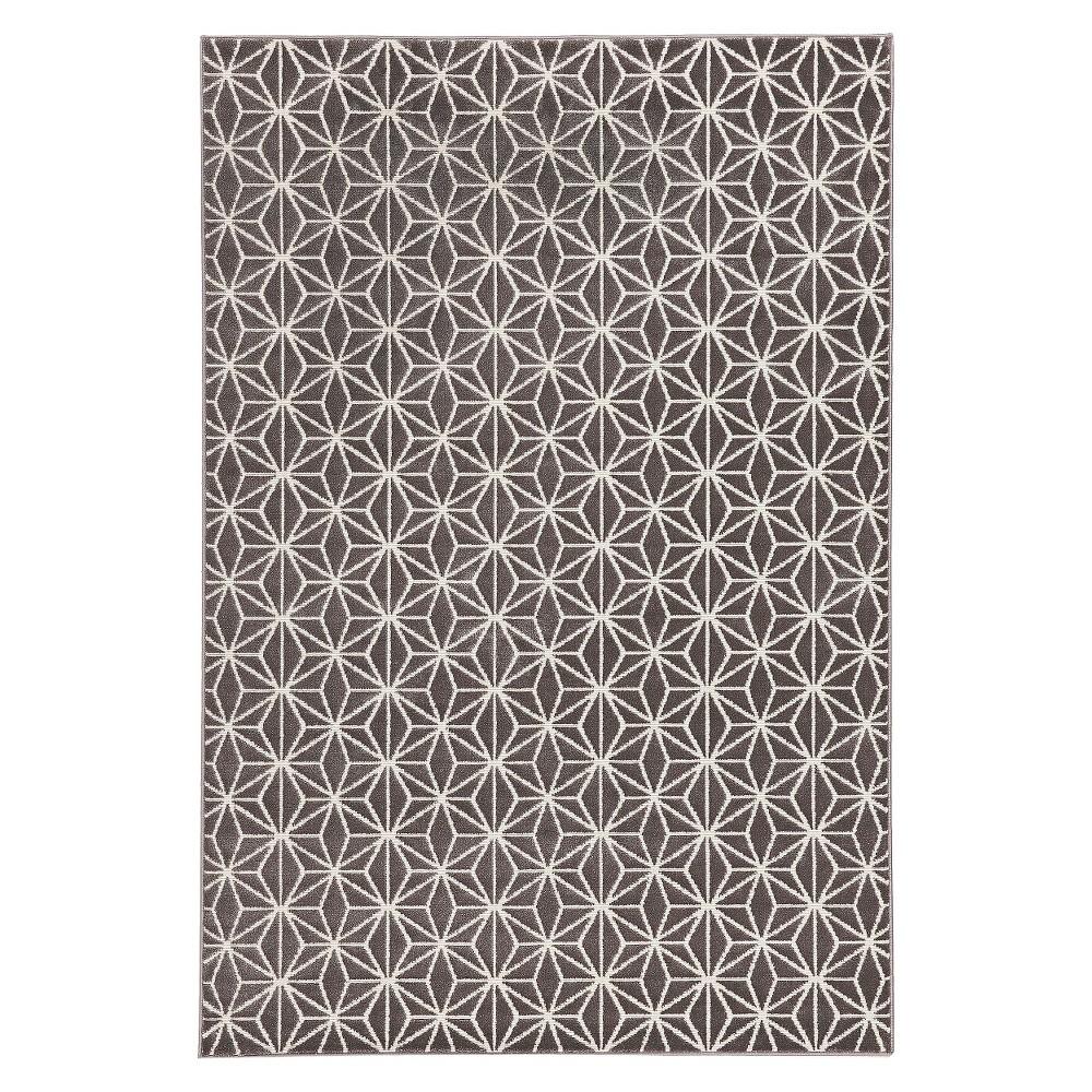 Balta Zara Rug Gray/Cream 7'10x10', Gray Off-White