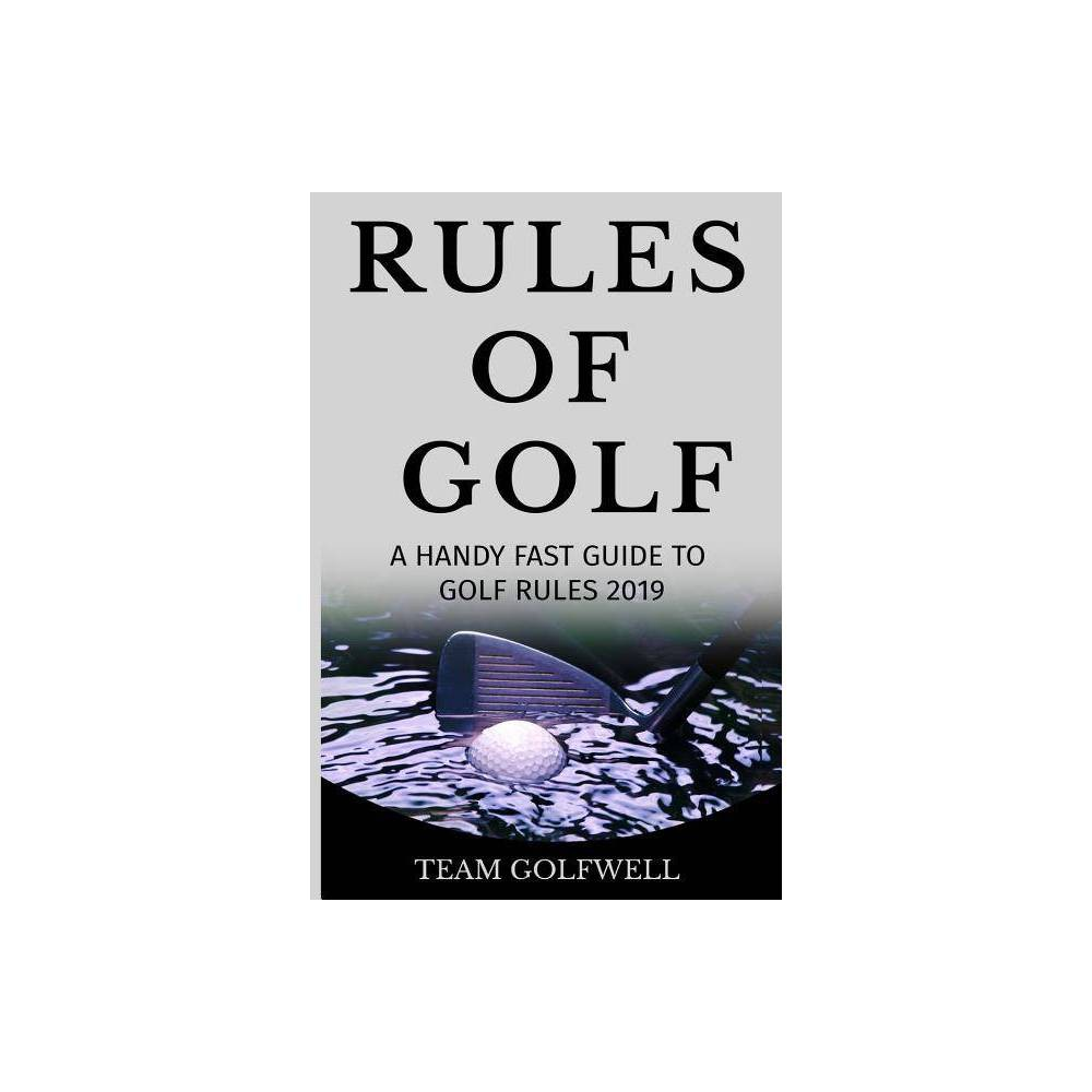 Fast Guide To The Rules Of Golf By Team Golfwell Paperback