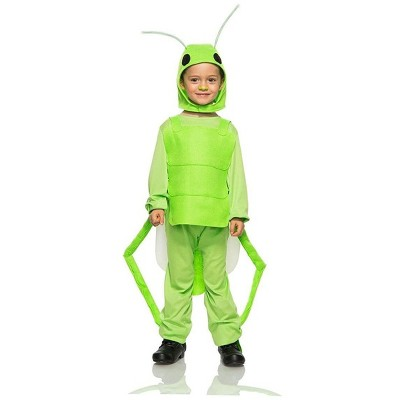 Seeing Red Flying Grasshopper Child Costume