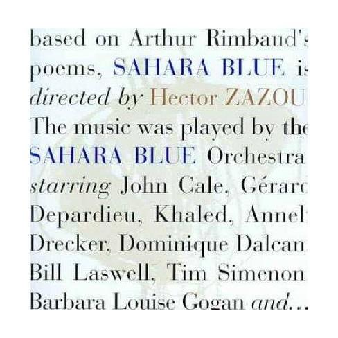 Hector (Composer Zazou & Produce - Sahara Blue (CD) - image 1 of 1