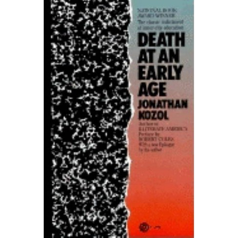 Death at an Early Age - by  Jonathan Kozol (Paperback) - image 1 of 1