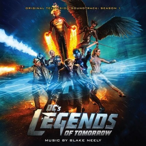 Various - Dc's Legends Of Tomorrow:Ssn 1 (Ost) (CD) - image 1 of 1