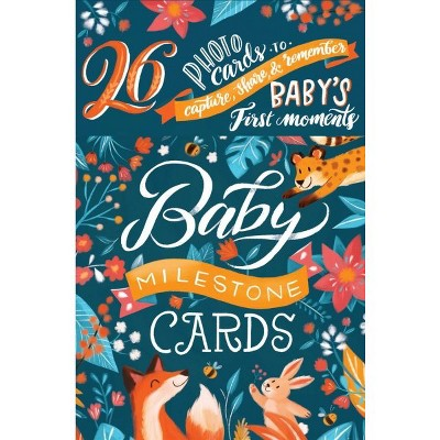 Baby Milestone Cards : 26 Photo Cards to Capture, Share, & Remember Baby's First Moments - CRDS
