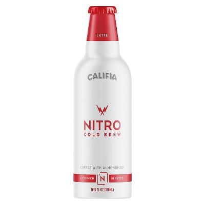 Coffee Drinks: Califia Farms Nitro Cold Brew with Almondmilk