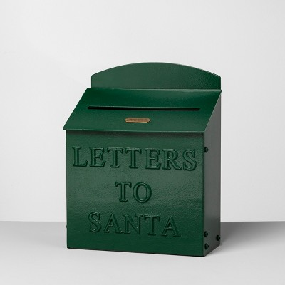 Mailbox Letters to Santa Green - Hearth & Hand™ with Magnolia
