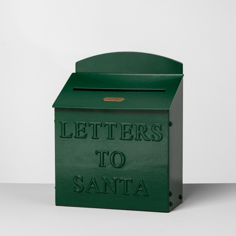 Mailbox Letters to Santa - Green - Hearth & Hand™ with Magnolia - image 1 of 6
