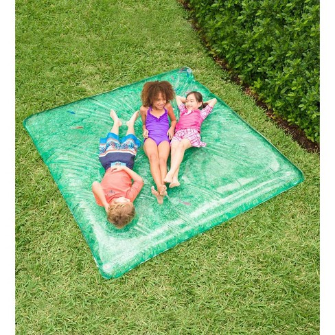 Large Rectangle Aquapod With Pretend Fish For Kids Backyard Water Play Hearthsong Target