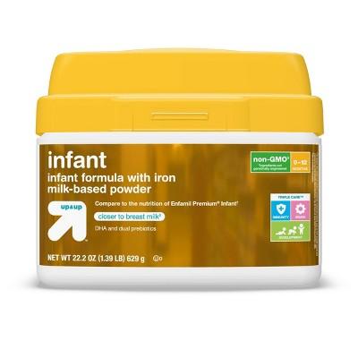 Infant Non-GMO Formula with Iron Powder - 22.2oz - up & up™