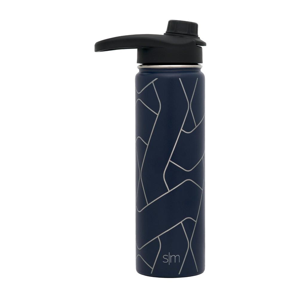 Image of Simple Modern 22oz Summit Stainless Steel Water Bottle Dark Blue