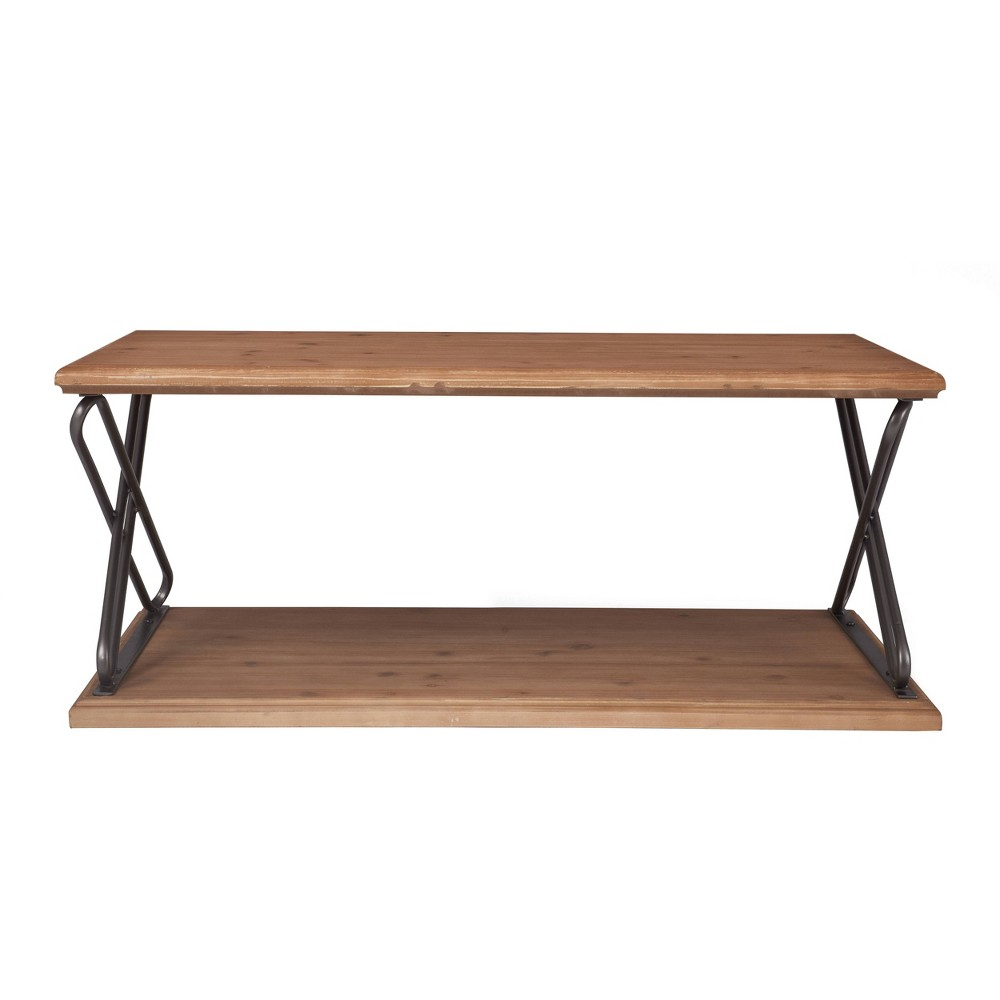 Image of Brooks Coffee Table Brown - Click Décor