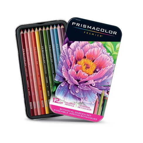prismacolor 12ct colored pencils botanical garden target