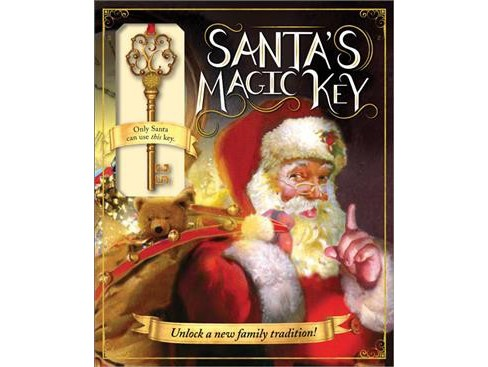 Santa's Magic Key (Hardcover) (Eric James) - image 1 of 1
