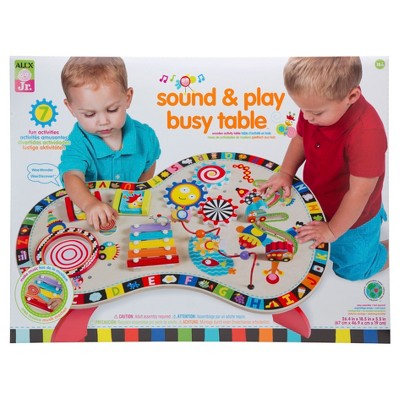 ALEX Toys ALEX Jr. Sound and Play Busy Table