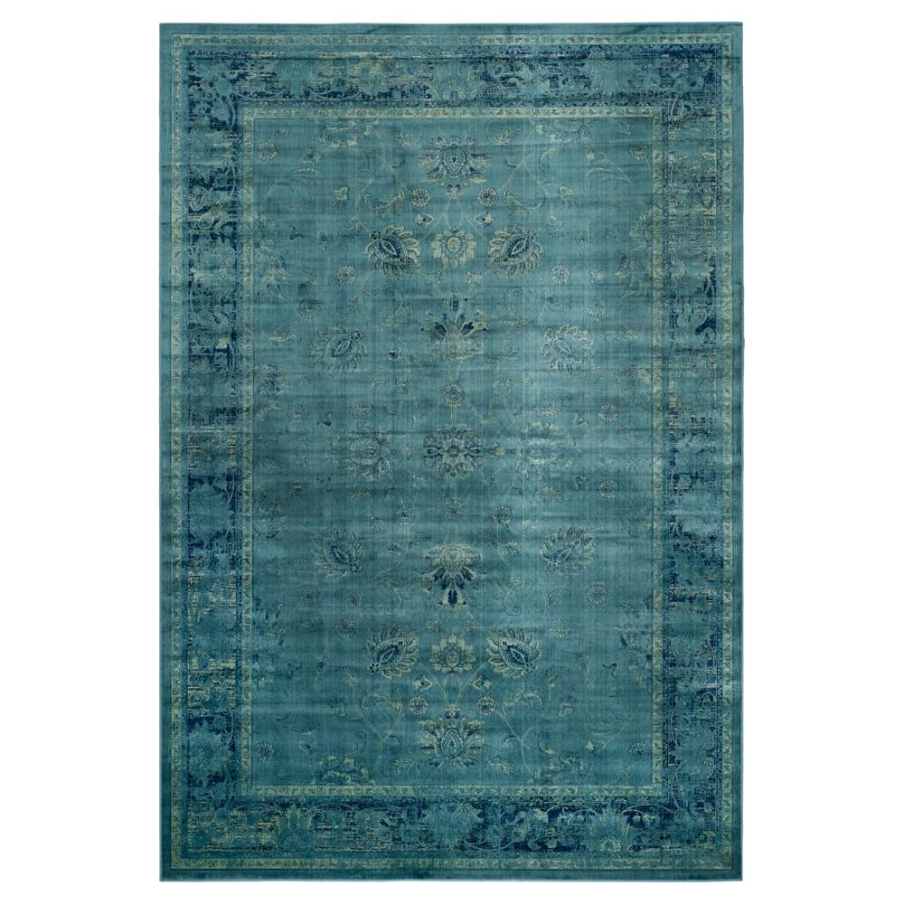 Matilde Vintage Area Rug - Turquoise (10'x14') - Safavieh
