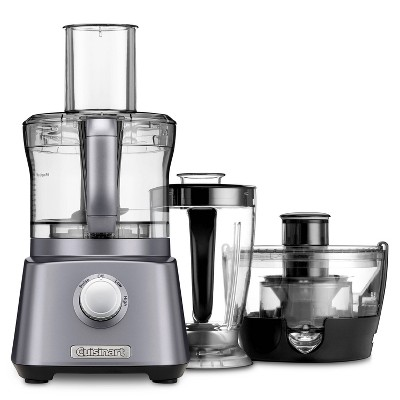 Cuisinart Kitchen Central 3-In-1 Food Processor Blender and Juice Extractor - CFP-800TG