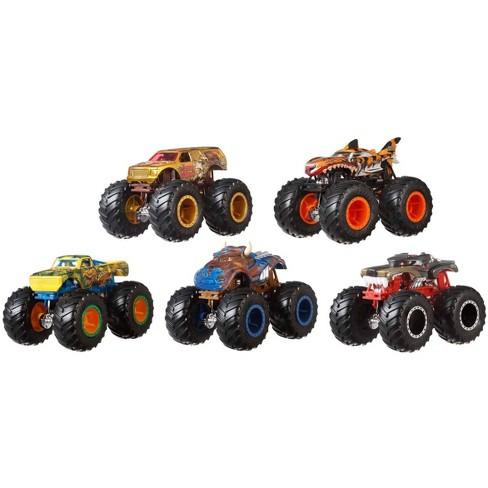Hot Wheels Monster Trucks 1 64 Critter Crashers 5pk Styles May Vary Target