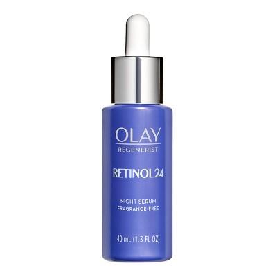 Facial Treatments: Olay Regenerist Retinol 24 Serum