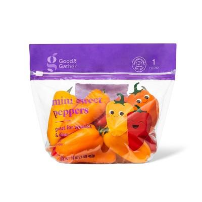 Mini Sweet Peppers - 16oz - Good & Gather™