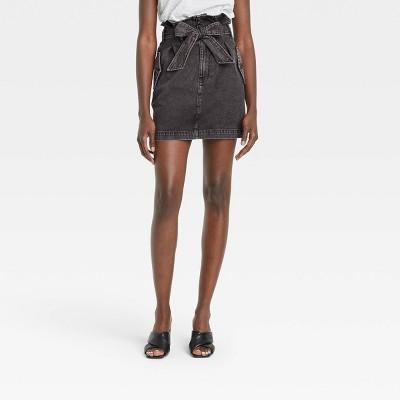 Women's Mini Jean Skirt - Who What Wear™