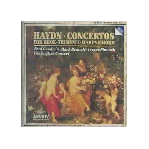 Haydn - Haydn: Concertos for Oboe, Trumpet, Harpsicord (CD) - image 1 of 1