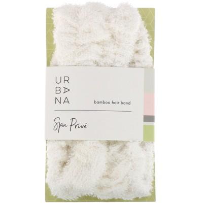 European Soaps Urbana, Spa Prive, Bamboo Viscose Hair Band, 1 Hair Band