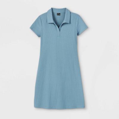 Girls' Short Sleeve Polo Dress - art class™