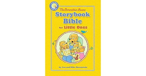 Berenstain Bears Storybook Bible for Little Ones (Hardcover) - image 1 of 1