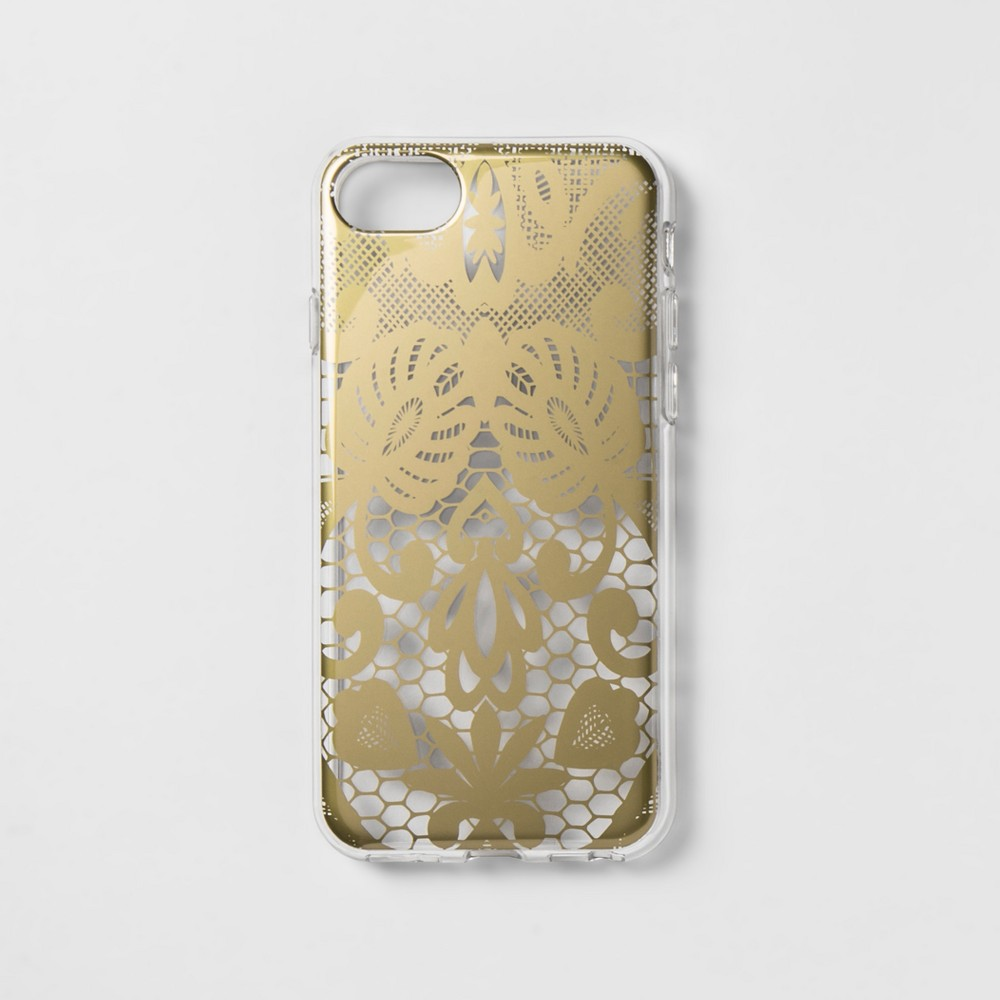 heyday Apple iPhone 8/7/6s/6 Case - Gold Lace