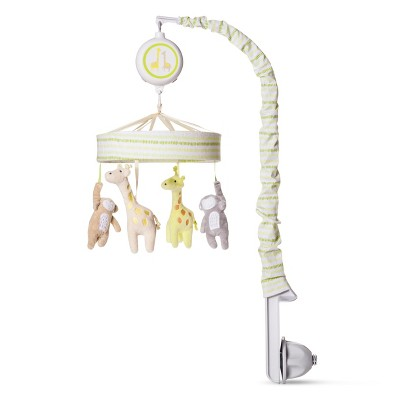 Crib Mobile Monkeys & Giraffes - Cloud Island™ - Lime Green