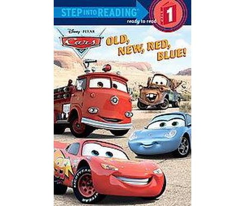 Old, New, Red, Blue! ( Cars: Step Into Reading, Step 1) (Paperback) by Melissa Lagonegro - image 1 of 1
