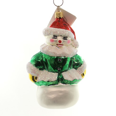 Christopher Radko Forest Bella Ornament Snowman Christmas - image 1 of 2