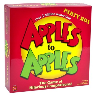 Apples to Apples Party Box The Game of Hilarious Comparisons (Family Edition)