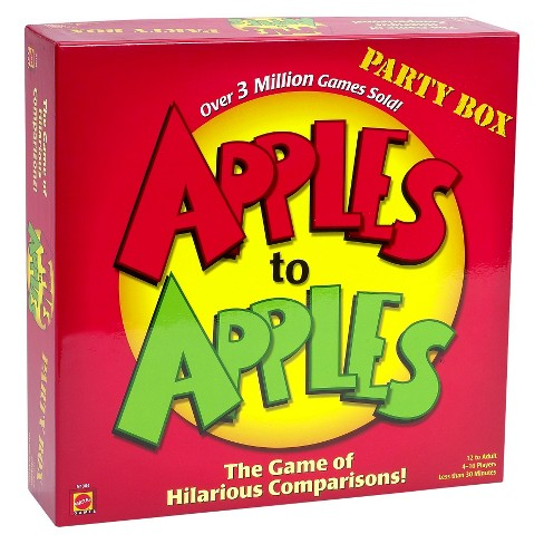 Apples to Apples Party Box The Game of Hilarious Comparisons (Family Edition) - image 1 of 4