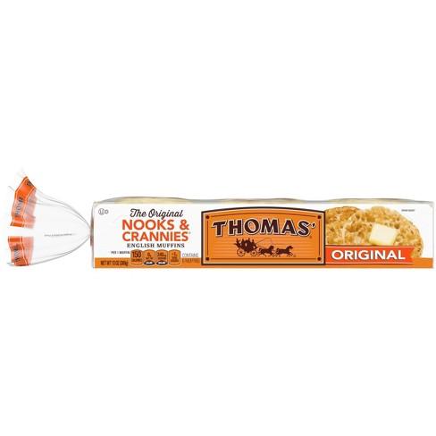 Thomas' Regular English Muffins - 13oz/6ct - image 1 of 4