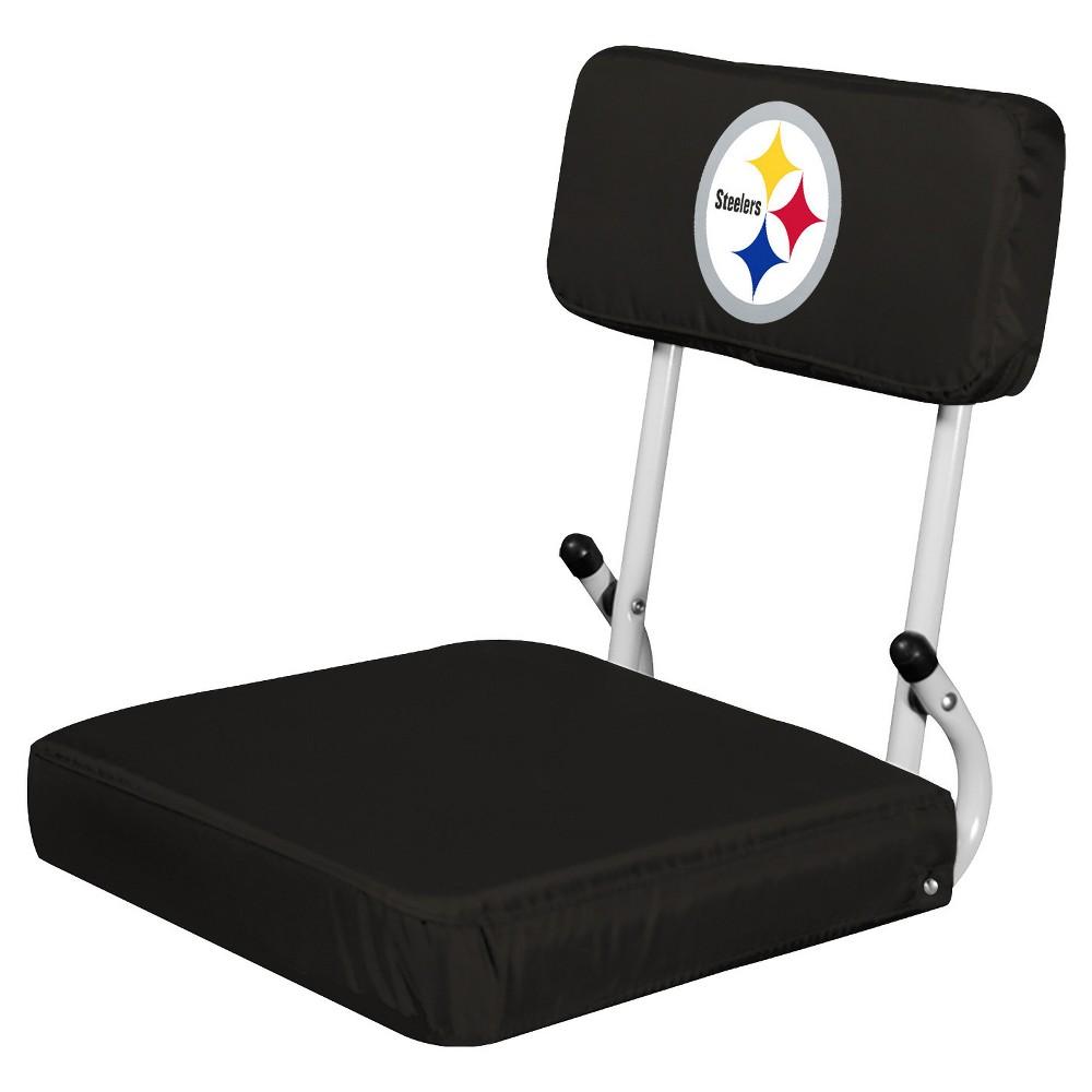 NFL Pittsburgh Steelers Portable Hardback Seat