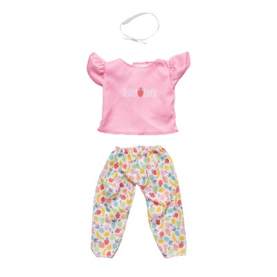 """Perfectly Cute Berry Good 3pc Outfit - for 14"""" Dolls"""