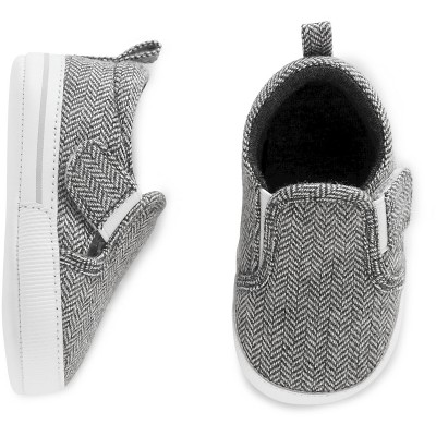 Just One You™ Made by Carter's® Baby Boys' Gray Slip-on Sneaker Size 2
