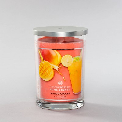 19oz Jar 2-Wick Mango Cooler Candle - Home Scents by Chesapeake Bay Candle