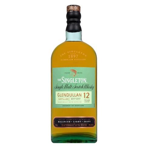 Singleton of Glendullan 12yr Single Malt Scotch Whisky - 750ml Bottle - image 1 of 3
