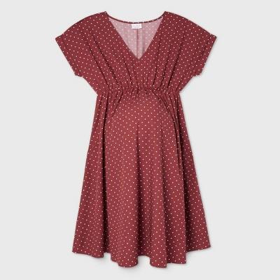 Short Sleeve Crepe Maternity Dress - Isabel Maternity by Ingrid & Isabel™